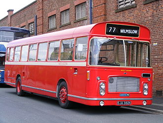 Bristol RE - Preserved North Western Road Car Company Bristol RE with ECW bodywork.