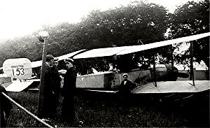 Bomber - Bristol T.B.8, first purpose-built British bomber, 1913