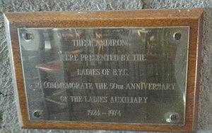 Britannia Yacht Club Ladies Auxiliary plaque 1924-74.jpg