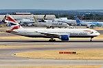 British Airways, G-VIIL, Boeing 777-236 ER (43687782194).jpg