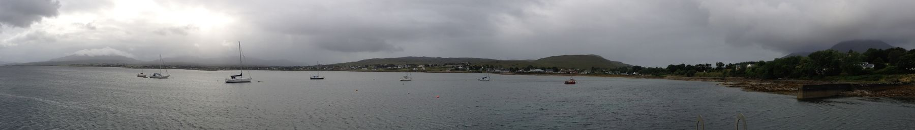 Panorama of Broadford from the Pier