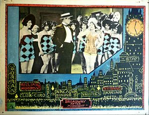 Broadway After Midnight - lobby card.