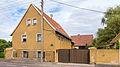 Brockwitz Dresdner Straße 208 Stalltrakt eines Wohnstallhauses und Scheune eines Bauernhofes I.jpg