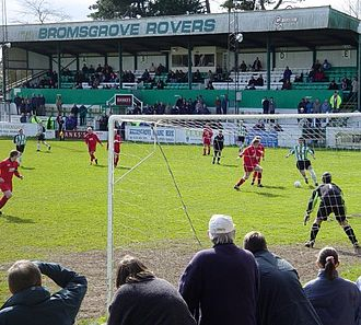 Bromsgrove Rovers F.C. - Home game at Victoria Ground