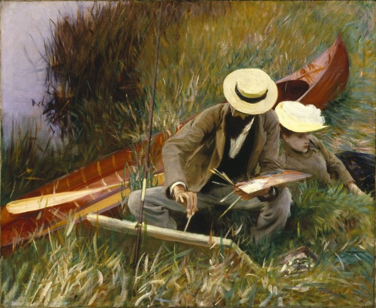 Brooklyn Museum - An Out-of-Doors Study - John Singer Sargent - overall