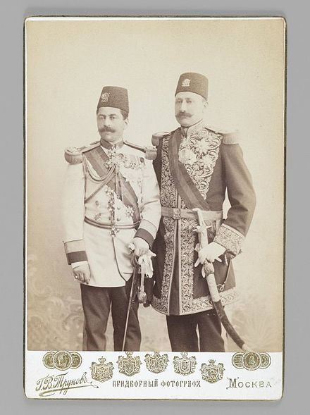 Two Royal Officers in Full Uniform, One of 274 Vintage Photographs. Brooklyn Museum. Brooklyn Museum - Two Royal Officers in Full Uniform One of 274 Vintage Photographs.jpg