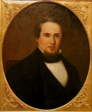 Aaron V. Brown - Portrait of Brown by Washington B. Cooper