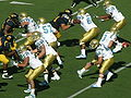 Bruins on offense at UCLA at Cal 10-25-08 10.JPG