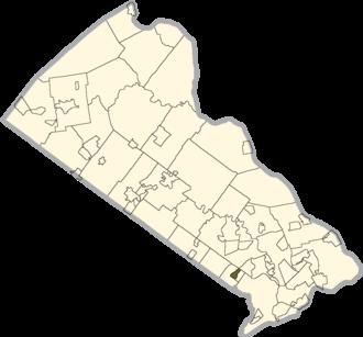 Feasterville, Pennsylvania - Image: Bucks county Feasterville