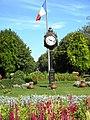 Bucuresti, Romania, Parcul Cismigiu; B-II-a-A-19655 (vedere cu ceas) (2).JPG
