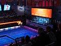 Budapest2017 fina world championships - victory ceremony - 100backstroke - Kylie Jacqueline Masse - Kathleen Baker - Emily Seebohm - scoreboard.jpg