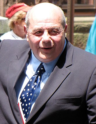 Buddy Cianci - Cianci at the Bristol Fourth of July Parade in 2009