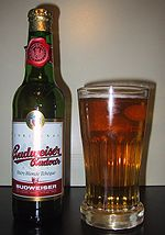 Budweiser Budvar and glass.jpg