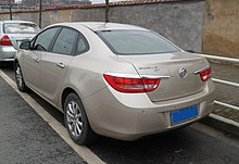 Buick Excelle Gt China