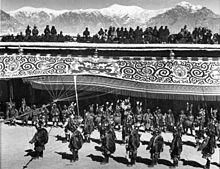 Potala 1938, festa del capodanno tibetano