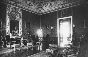 Prinz-Albrecht-Palais - A salon in the Palais, 1928