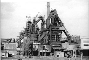 EKO Stahl - Blast furnaces in 1990