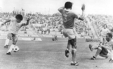 Jairzinho's goal against Zaire