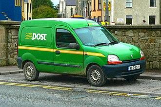 An Post - An Post van near Bundoran Post Office