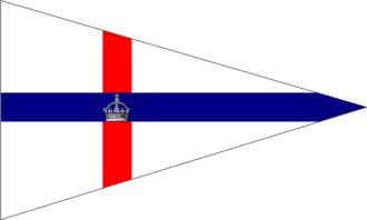 Royal Yacht Club of Tasmania - Image: Burgee of royalyachtclubaus