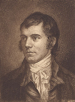 Robert Burns, by William Hole