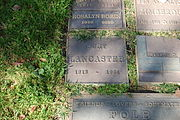 Burt Lancaster grave at Westwood Village Memorial Park Cemetery in Brentwood, California