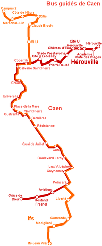 Bus guidés de Caen - plan.png