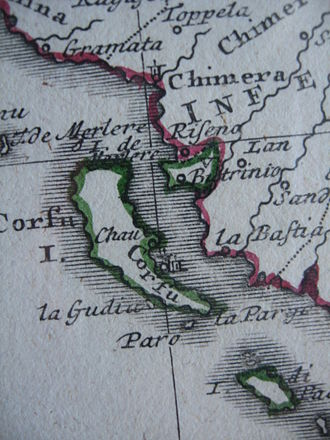 Buthrotum - Butrinto, a Venetian enclave on the Ottoman mainland