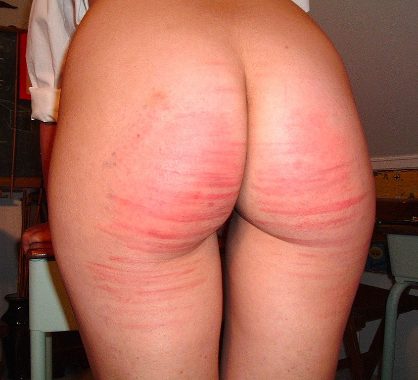 from Camron brutal gay caning