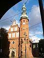 Bydgoszcz,kościół poklasztorny Klarysek-wieża.JPG