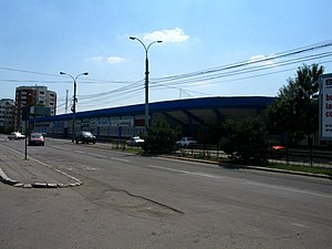 Stadionul Municipal (Buzău) - Image: Bz stadium gloria