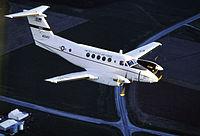 C-12 Huron en flight.jpg