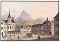 CH-NB - Schwyz, Hauptplatz gegen die Mythen - Collection Gugelmann - GS-GUGE-SCHMID-A-C-2.tif