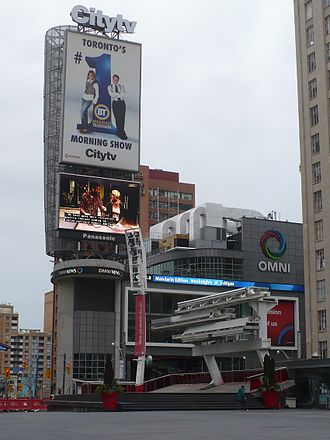 Citytv - The CITY/OMNI building 33 Dundas Street East, Toronto