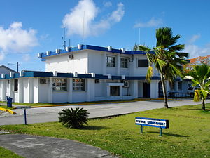 Susupe - Northern Mariana Islands Department of Public Safety Police Division Building in Susupe