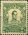 COLOMBIA - ANTIOQUIA - 1899 - too late fee.jpg