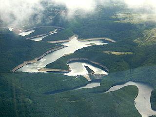 Urft Dam dam in Germany