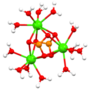 Calcium sulfite - Image: Ca 3(SO3)2aq 12