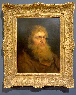 Study by Peter Paul Rubens