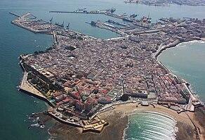 Karte Andalusien Cadiz.Cádiz Reiseführer Auf Wikivoyage