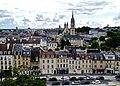 Caen Château de Caen Blick auf die Rue de Geôle 3.jpg