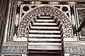 Cairo, moschea di al-muayyad, interno, mihrab 01.JPG