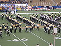 Cal Band performing pregame at EWU at Cal 2009-09-12 6.JPG