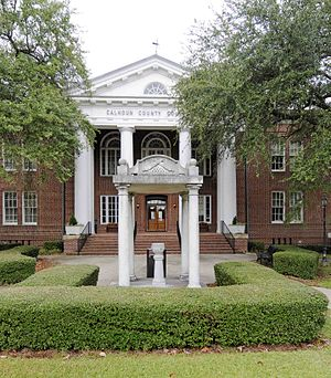 National Register of Historic Places listings in Calhoun County, South Carolina - Image: Calhoun County Courthouse