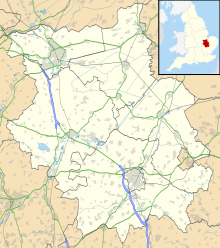 Gransden Lodge Airfield is located in Cambridgeshire