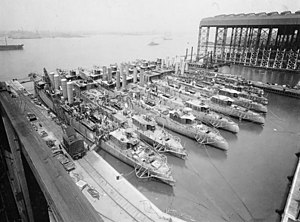 New York Shipbuilding Corporation - Image: Camden Shipyard 1919