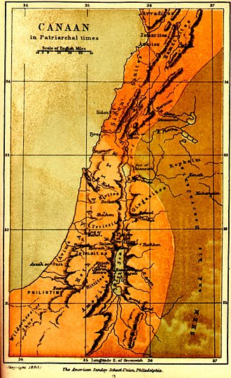 Ancient Canaanite religion - The land of Canaan, which comprises the modern regions of Israel, Palestine, Lebanon, Jordan and Syria. At the time when Canaanite religion was practiced, Canaan was divided into various city-states.