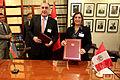 Canciller Eda Rivas se reúne y suscribe acuerdo con su homólogo de Azerbaiyán (9924250915).jpg