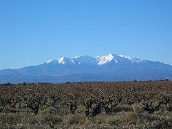 Le Canigou peak, Pyrénées-Orientales, France