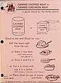Canned chopped meat or canned luncheon meat - a good choice for the thrifty family (IA CAT31314645) (page 3 crop).jpg
